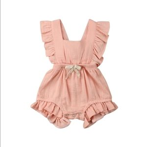 Other - BABY GIRL PINK ROMPER